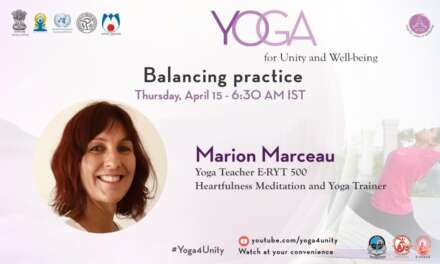 46 – A Balancing Practice & Heartfulness Mediation | Yoga For Unity And Well-being | Heartfulness