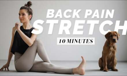 Back Pain Relief Stretches |  10 Min. Yoga For Relaxation & Recovery