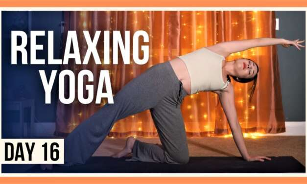 15 Min Yoga For Flexibility – Day #16 (EVENING YOGA CLASS)
