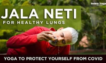 YOGA FOR COVID RELIEF | JALA NETI FOR HEALTHY LUNGS