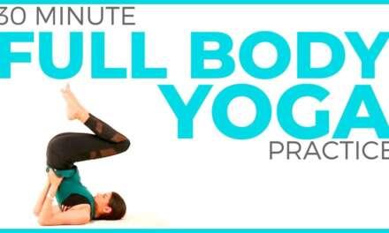 30 Minute Full Body Yoga Practice | Intermediate Vinyasa Flow & Stretch | Sarah Beth Yoga