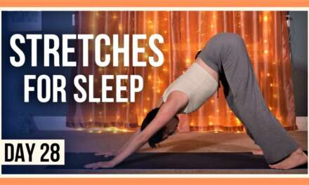 15 Min Evening Yoga Class – Day #28 (YOGA FOR FLEXIBILITY & RELAXATION)