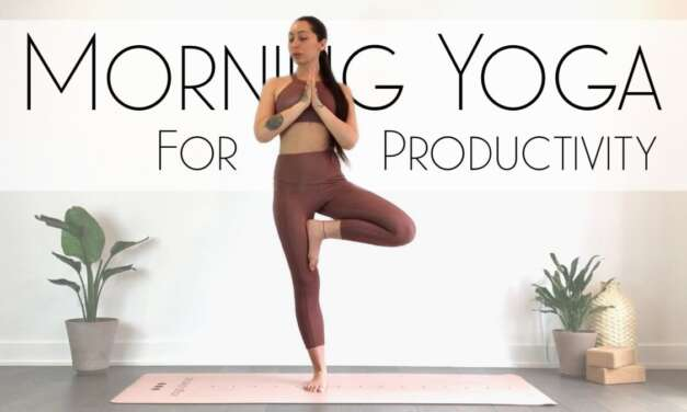 10 Minute Morning Yoga Flow & Stretch – FEEL AMAZING!