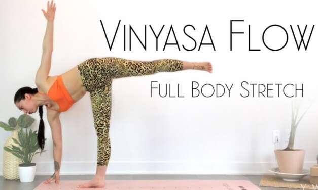 Wake Up Yoga – BEST Morning Yoga Full Body Stretch & Flow – Intermediate Yoga