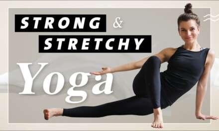 Yoga Ganzkörper Flow Für Einen Starken Und Flexiblen Körper | Strong & Stretchy | 35 Min Mittelstufe