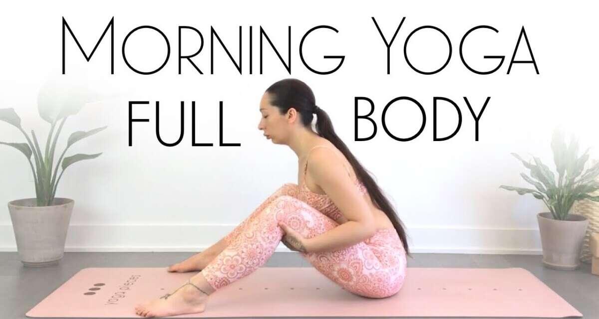 10 Minute Morning Yoga Full Body Stretch – FEEL AMAZING!