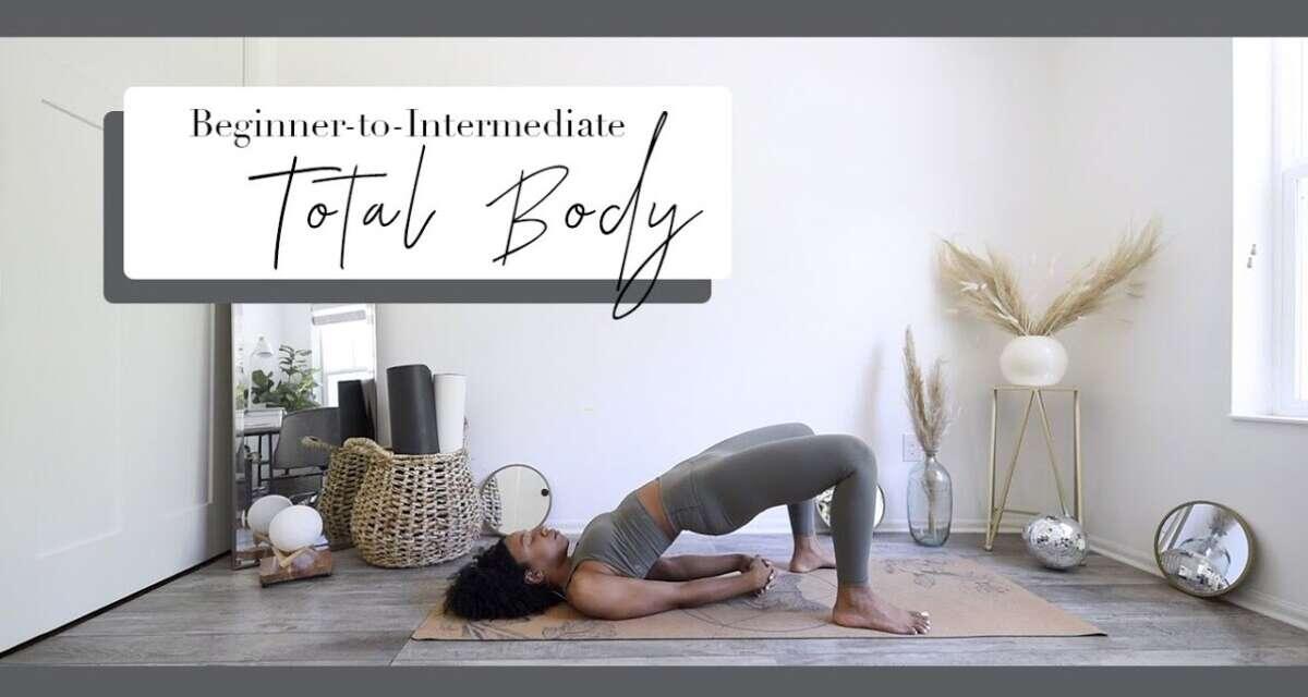 🥈 Total Body Yoga For *Beginner-to-Intermediate* Yogis!