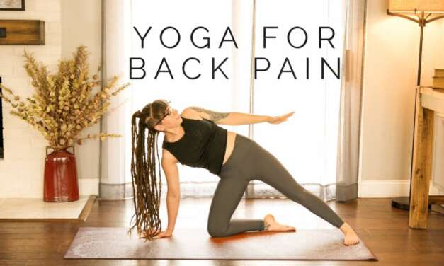 Yoga For Back Pain – 20 Min Deep Stretches For Lower Back, Upper Back, & Sciatica Pain Relief