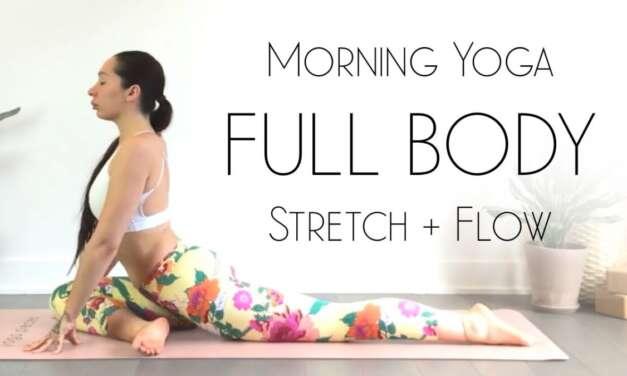 Morning Yoga Full Body Stretch & Flow For ENERGY!