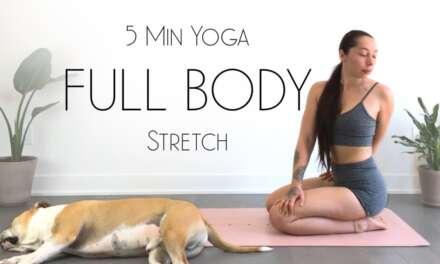 5 Minute Morning Yoga Stretch