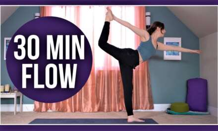30 Min Intermediate Vinyasa Yoga – Full Body Flow