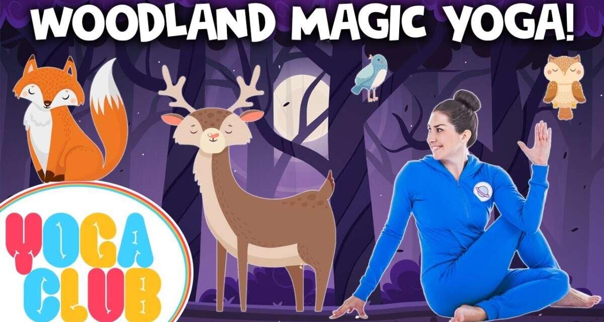 Woodland Magic Kids Yoga 🦊  Yoga Club (Week 42)   Cosmic Kids Yoga
