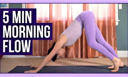 5 Minute Morning Yoga To FEEL YOUR BEST