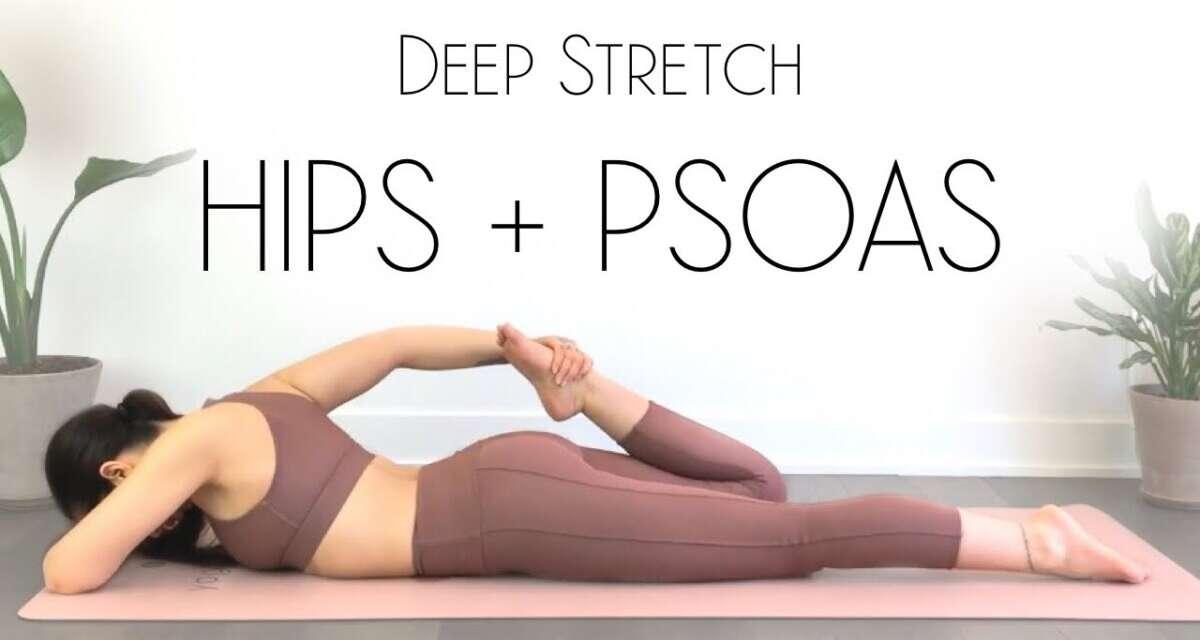Yoga Stretches For Psoas & Hip Flexors