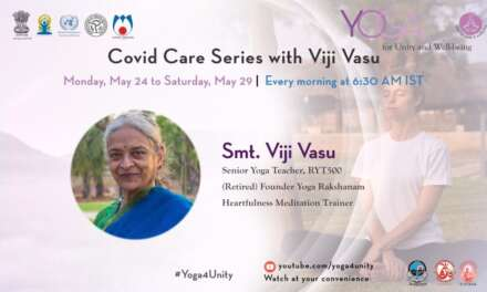 115 Gentle Movements For Recovery- Class 2by Smt.Viji Vasu |Yoga For Unity & Well Being|Heartfulness