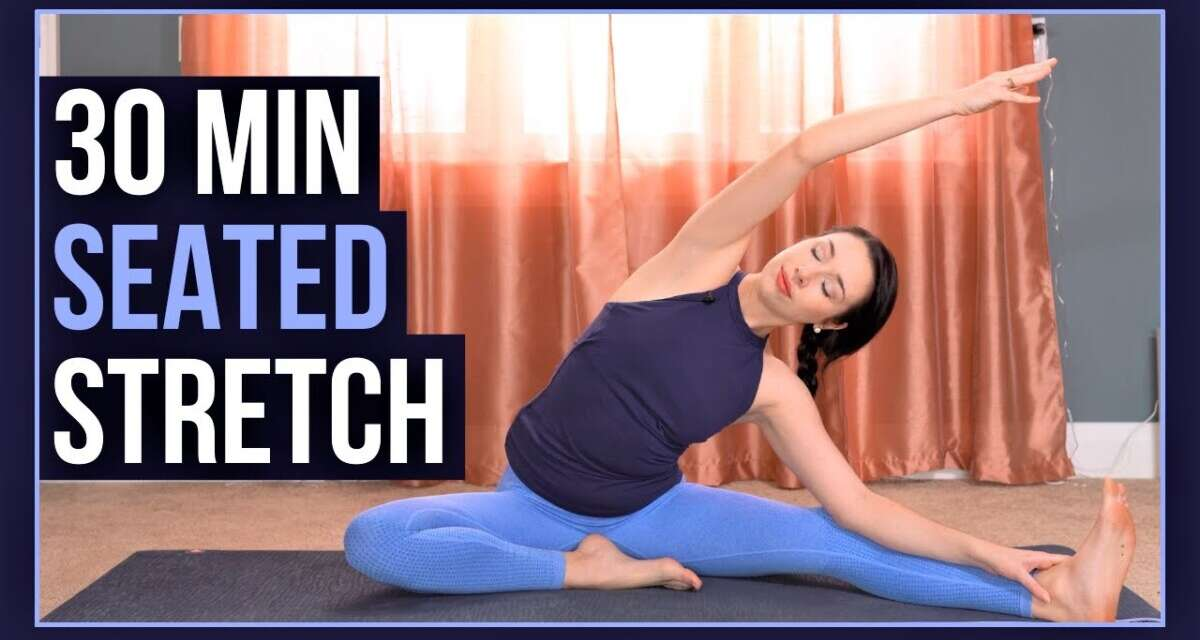 Gentle Seated Yoga To START Or END Your Day!