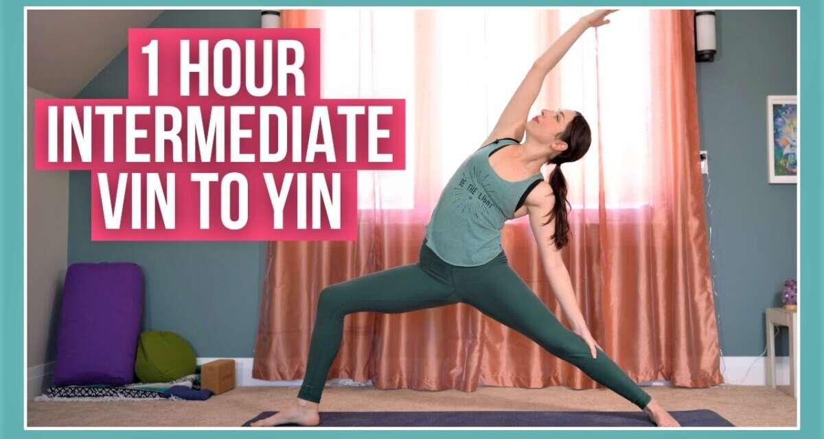 1 Hour Yoga STRENGTH & STRETCH – Intermediate Vin To Yin