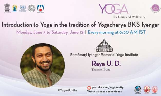 131- Yoga Class By BKS Iyengar School Class 2   Yoga For Unity And Well-being   Heartfulness