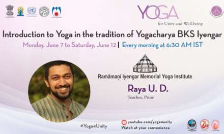 135- Yoga Class By BKS Iyengar School Class 5 | Yoga For Unity And Well-being | Heartfulness