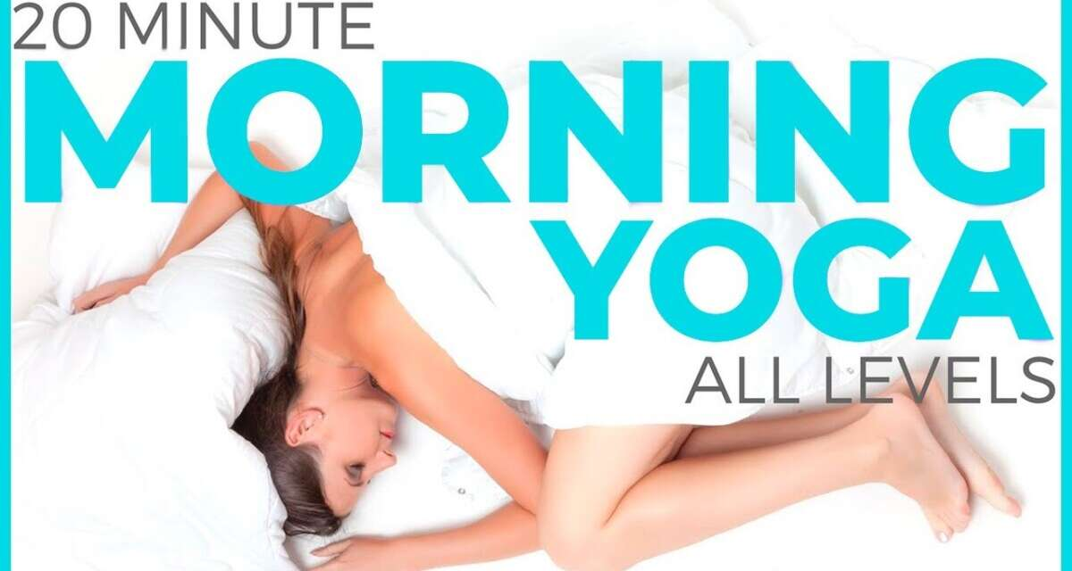 20 Minute Mindful Morning Yoga Practice (All Levels) | Sarah Beth Yoga