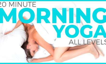 20 Minute Mindful Morning Yoga Practice (All Levels)   Sarah Beth Yoga
