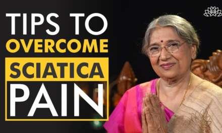 Yoga Techniques To Overcome Sciatica Pain | Dr. Hansaji Yogendra
