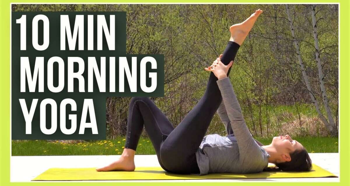 10 Min Morning Yoga To Wake Up 🌿 EARTH ELEMENT