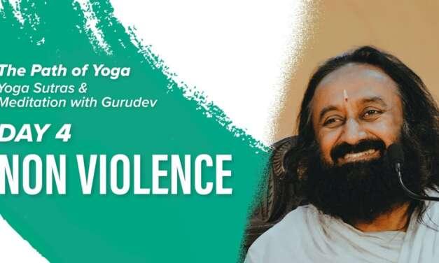 Patanjali Yoga Sutras And Meditation With Gurudev Sri Sri Ravi Shankar | Day 4 | The Path Of Yoga
