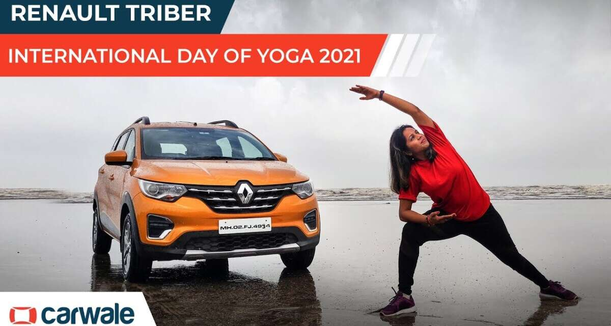 Renault Triber   World Yoga Day 2021   Be Your Modular Best