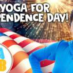 Kids Yoga For Independence Day 🇺🇸  Yoga Club (Week 48) | Cosmic Kids Yoga