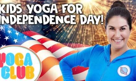 Kids Yoga For Independence Day 🇺🇸  Yoga Club (Week 48)   Cosmic Kids Yoga