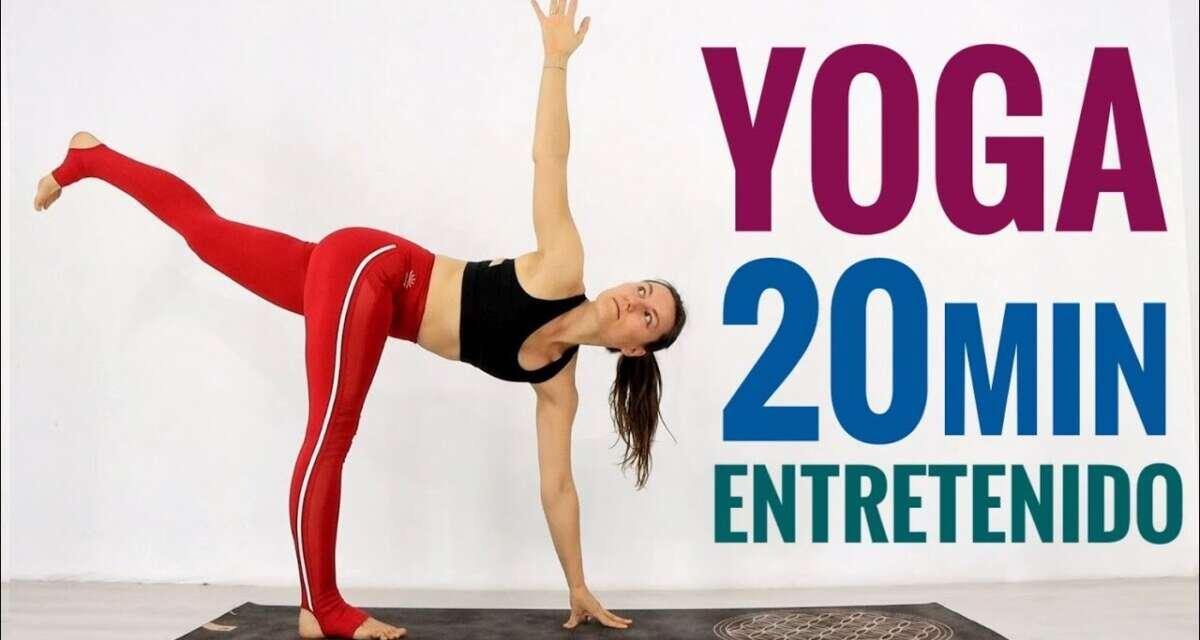 VINYASA YOGA 20 MINUTOS | ENTRETENIDA E INTENSA PARA TODO CUERPO | ELENA MALOVA