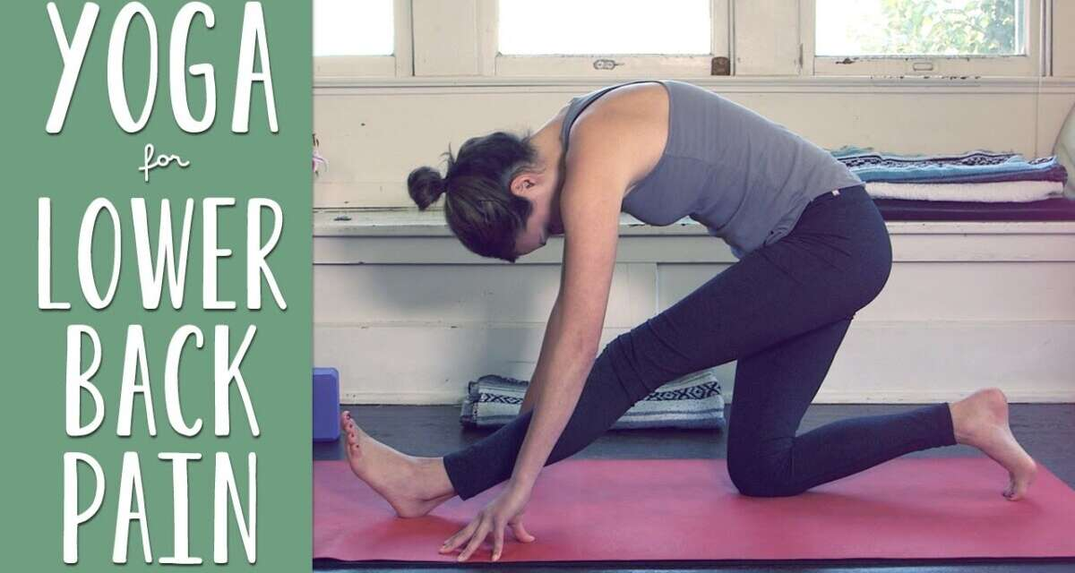 Yoga For Lower Back Pain     Yoga With Adriene