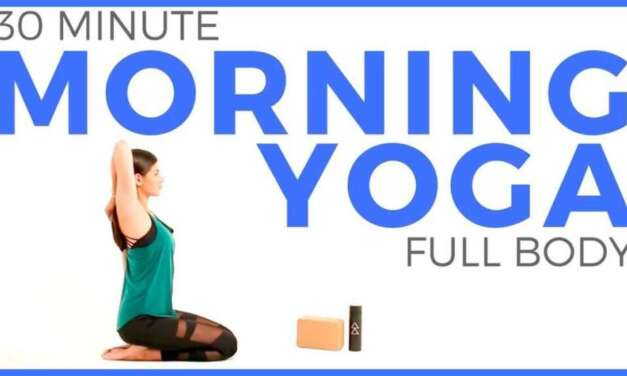 Yoga For Neck, Shoulders, Upper Back  –  10 Minute Yoga Quickie  –  Yoga With Adriene
