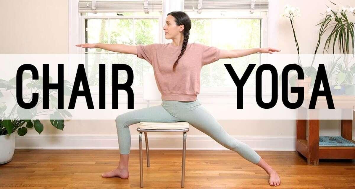 Chair Yoga – Yoga For Seniors | Yoga With Adriene