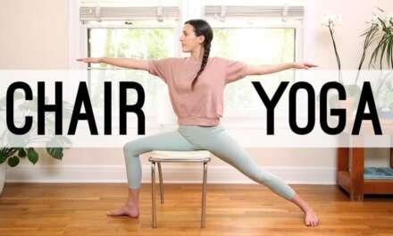 Chair Yoga – Yoga For Seniors   Yoga With Adriene