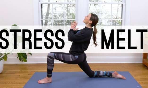 Stress Melt – 26 Min Yoga Break  |  Yoga With Adriene