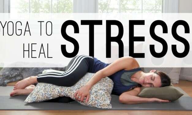 Yoga To Heal Stress  |  20 Min. Yoga Practice  |  Yoga With Adriene