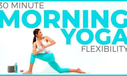 30 Minute Morning Yoga For Flexibility   Full Body Yoga Stretch