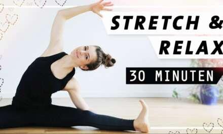 Yoga Stretch Relax Entspannung | Intensiv Dehnen Und Den Kopf Frei Bekommen