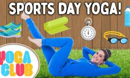 Sports Day Kids Yoga! 🎾 Yoga Club (Week 56) | Cosmic Kids Yoga