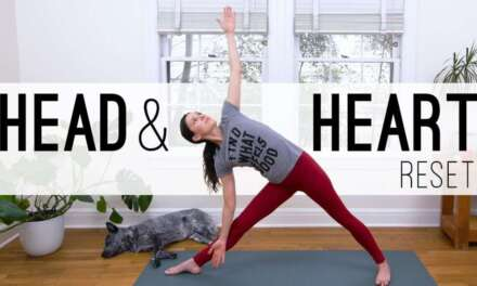 Head & Heart Reset     Yoga With Adriene