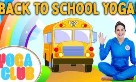 Back To School Kids Yoga! 📚 Yoga Club (Week 57) | Cosmic Kids Yoga