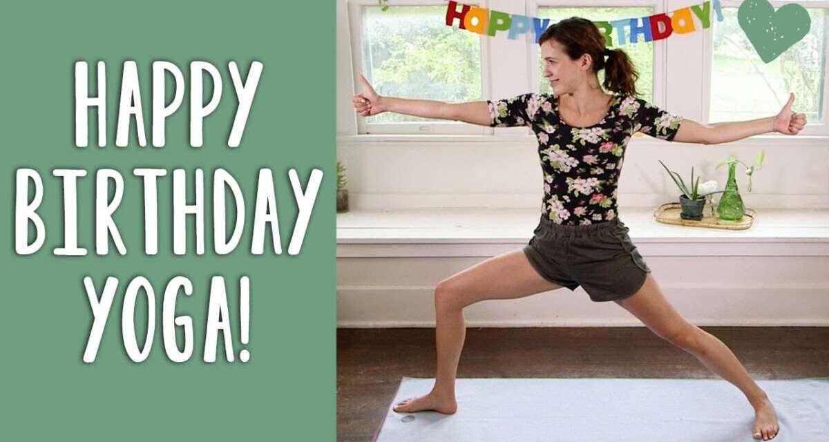 Happy Birthday Yoga
