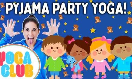 Pyjama Party Kids Yoga! 🧸 Yoga Club (Week 58) | Cosmic Kids Yoga