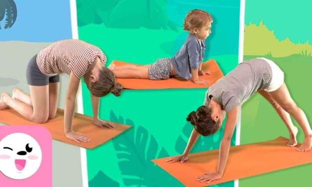 YOGA Para Niños – Las Posturas De Los Animales – Tutorial Para Practicar Yoga