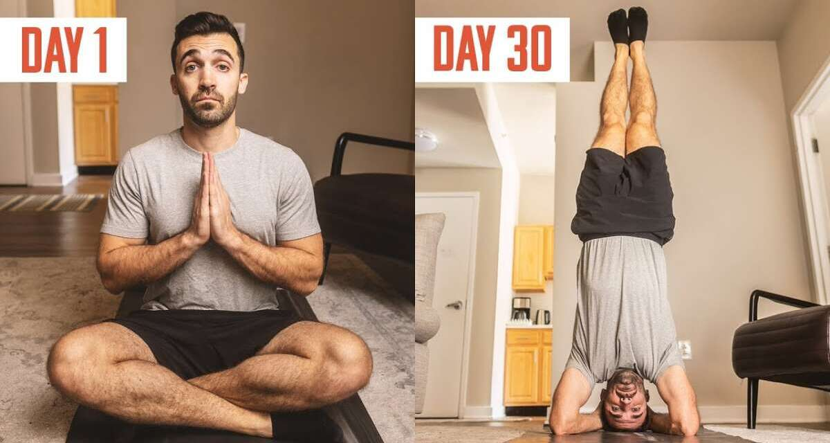 I Tried Yoga Every Day For 30 Days.