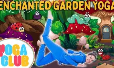 Enchanted Garden Kids Yoga! 🦋 Yoga Club (Week 59)   Cosmic Kids Yoga