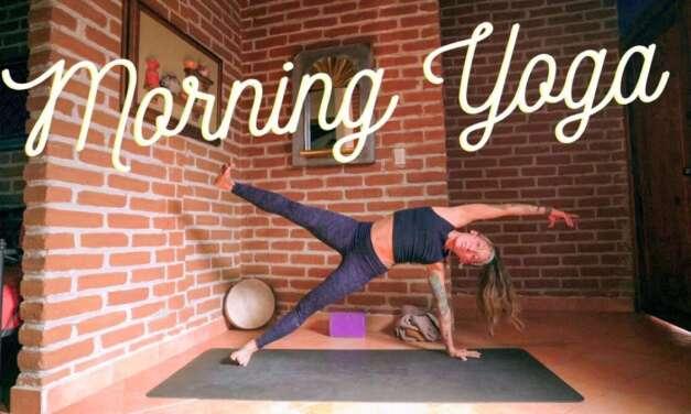 Morning Yoga For Energy – 30 Min Full Body Stretch Flow For Waking Up