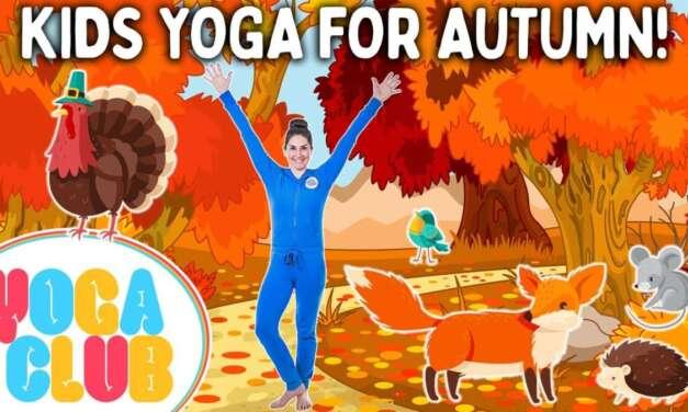 Kids Yoga For Autumn! 🍂 Yoga Club (Week 63) | Cosmic Kids Yoga